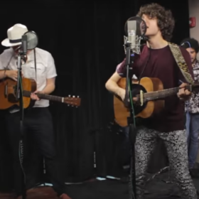 "The Kooks LIVE In Studio performing ""Around Town"" [Acoustic]"