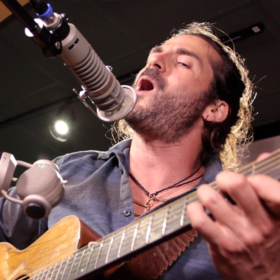 "Adam Ezra LIVE In Studio Performing ""Let Your Hair Fall Down"""