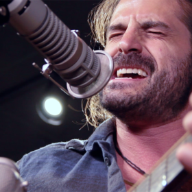 "Adam Ezra LIVE In Studio Performing ""100 Year Storm"""