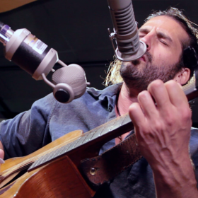 "Adam Ezra LIVE In Studio Performing ""Steal Your Daughter"""