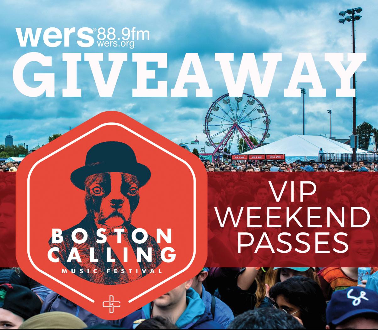 Win Boston Calling VIP Passes