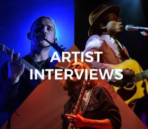 Live Mix Monday - Artist Interviews