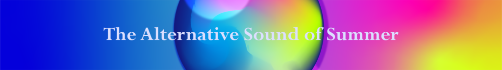 alternative sound of summer - blog banner