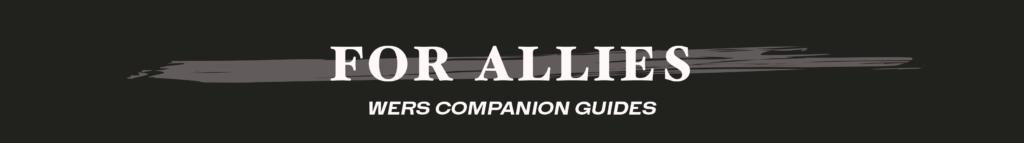 for allies - blog banner