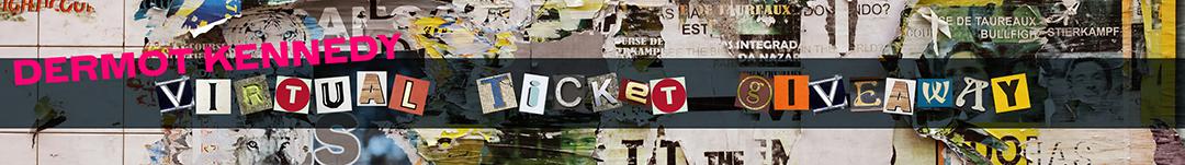 dermot kennedy giveaway - blog banner