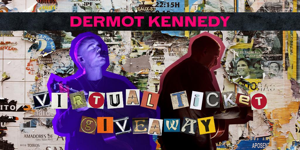 dermot kennedy giveaway - twitter banner