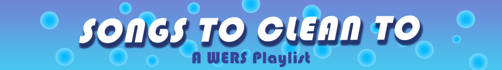 Songs to Clean to - Blog Banner