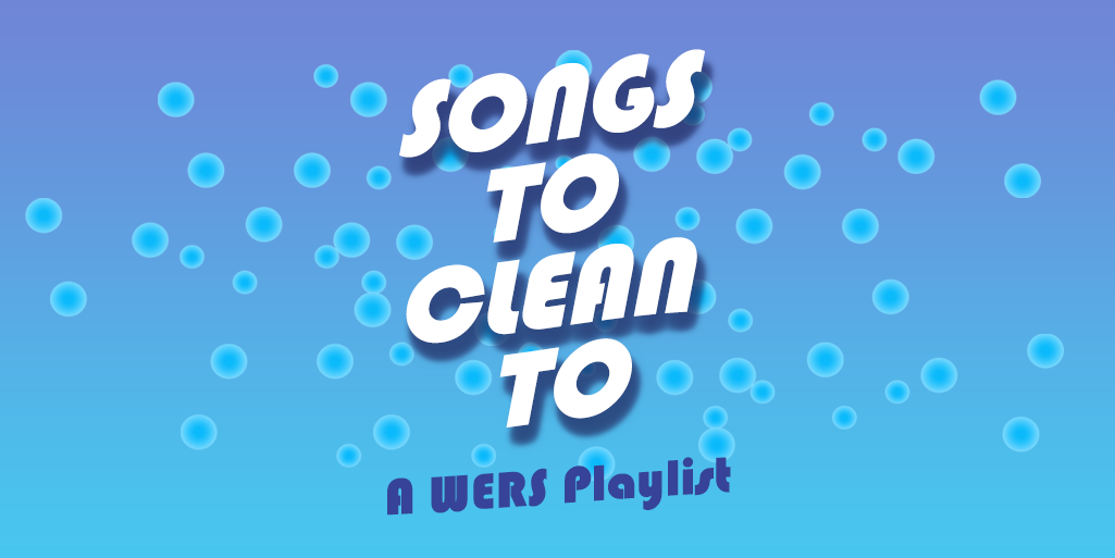 Songs to Clean to - Twitter Banner