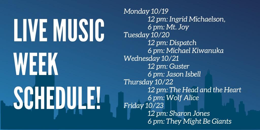 Live Music Week