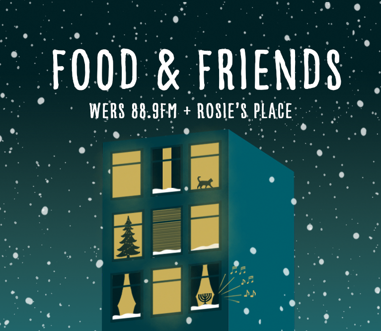 Just Announced: Food and Friends Drive in Partnership with Rosie's Place