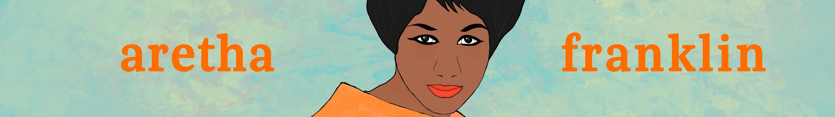 Aretha Franklin - Banner