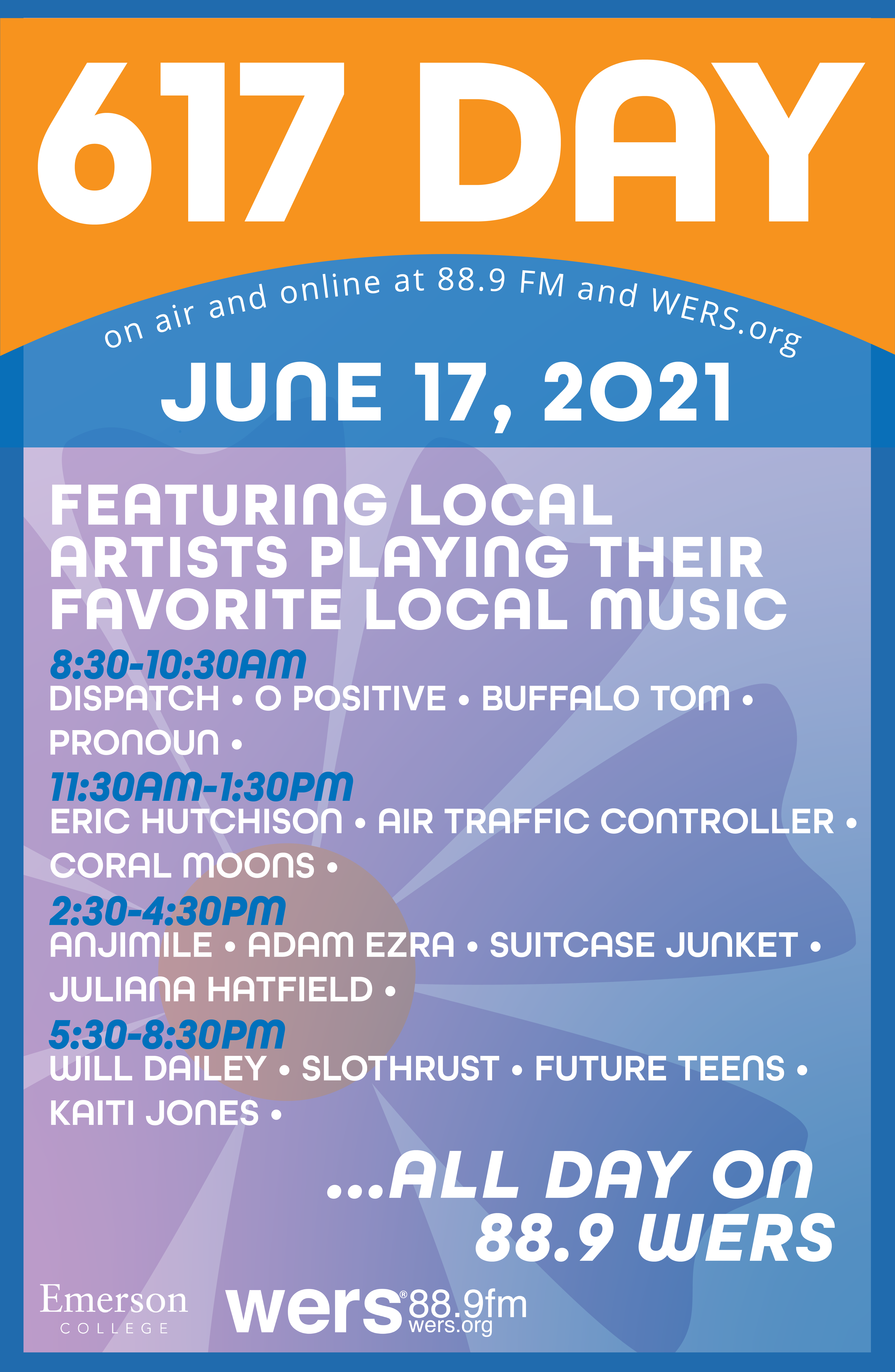 617 Day Lineup