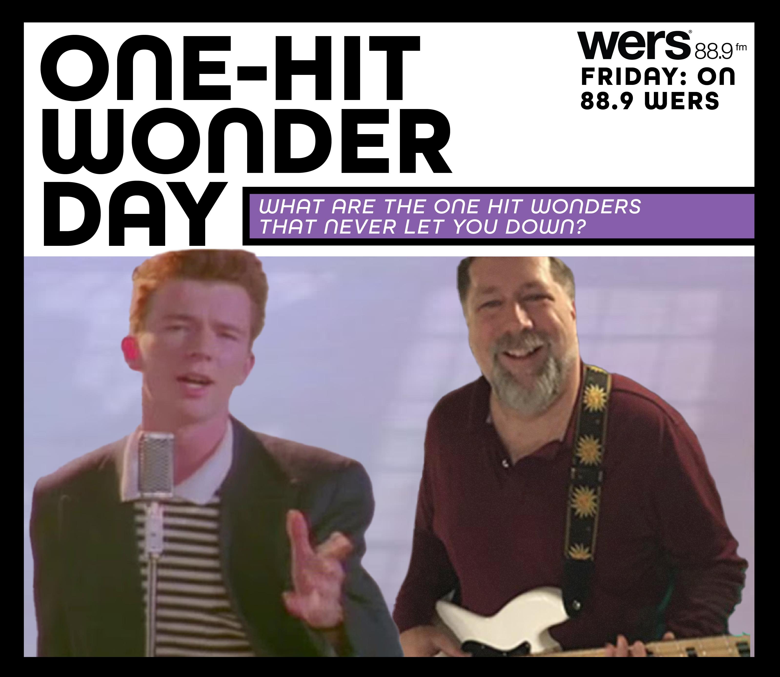 Playlist: Celebrating One-Hit Wonder Day